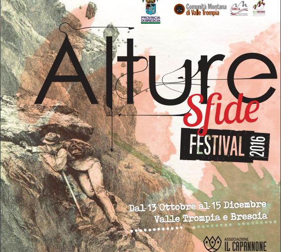 Sesta edizione di Alture Festival, io ci sono.
